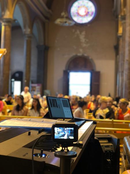 Cérémonie Religieuse au piano