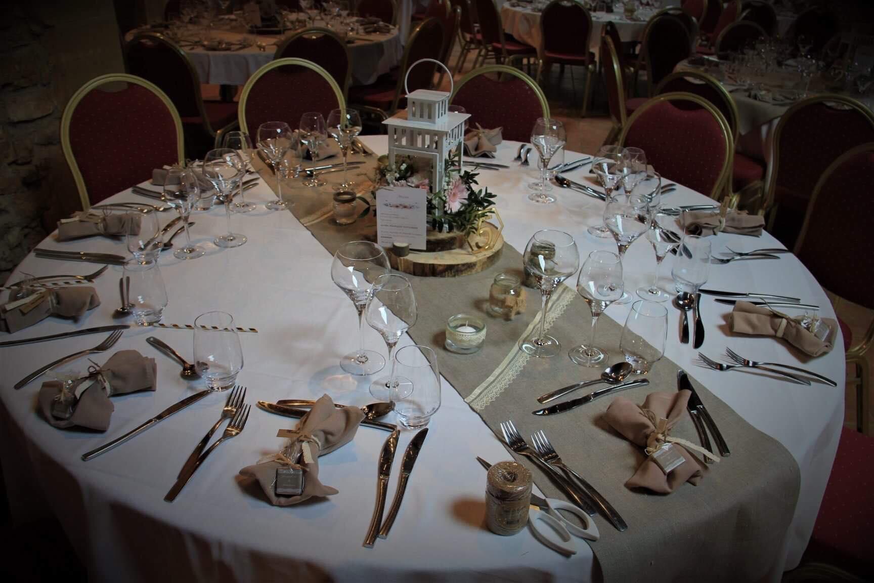 Diner au Château de Janzé