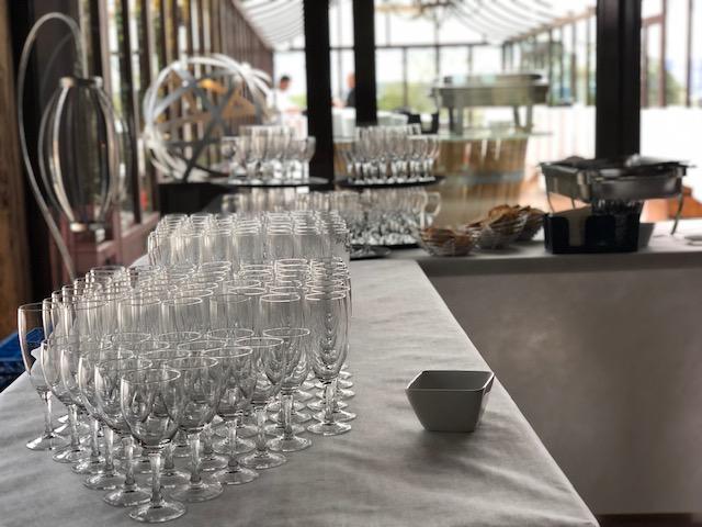 cocktail dans la verrière