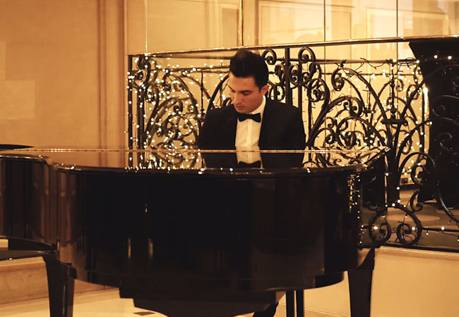 pianiste hotel paris