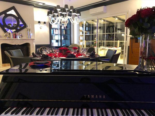 Pianiste pour le nouvel an