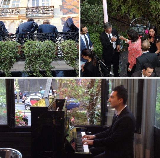 Pianiste Cocktail Entreprise Paris
