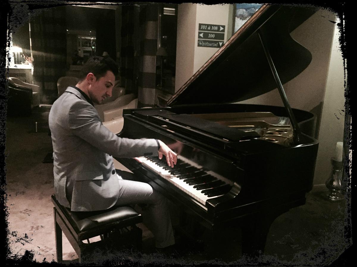 Pianiste hôtel Strasbourg