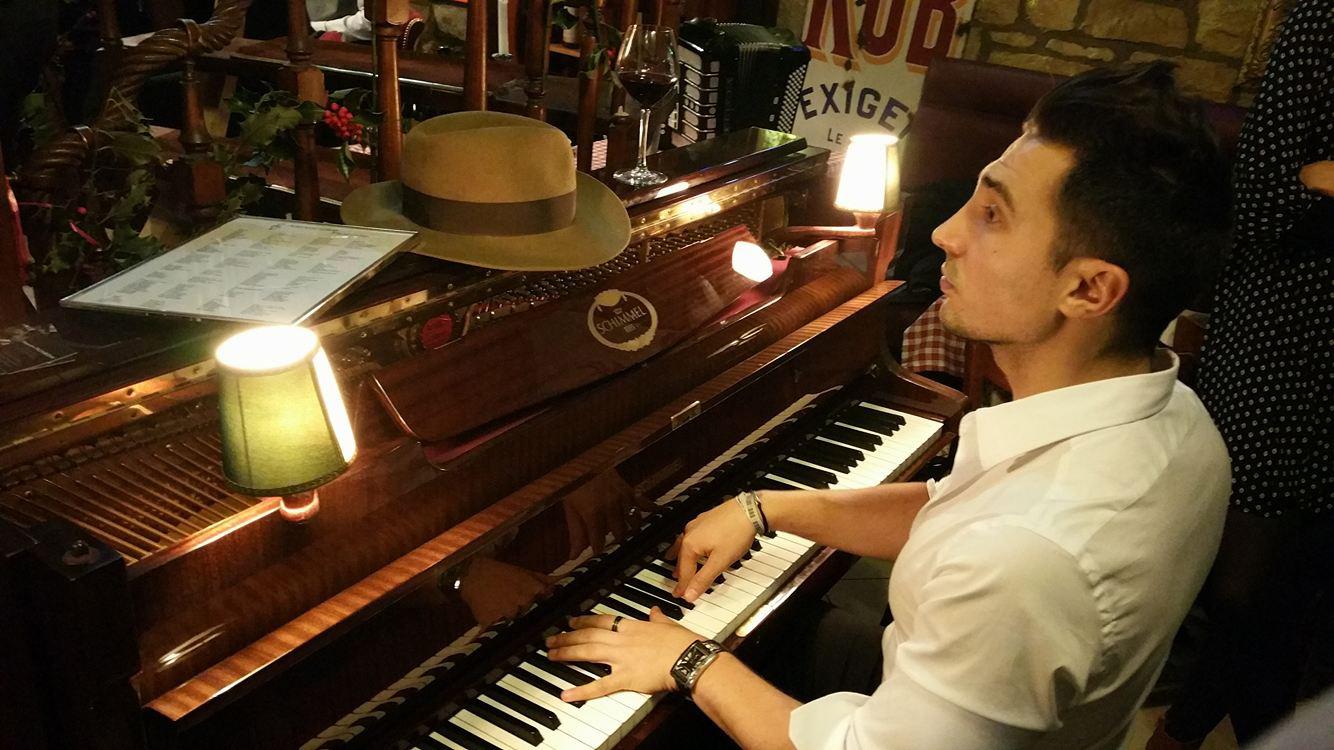Pianiste hôtel Genève