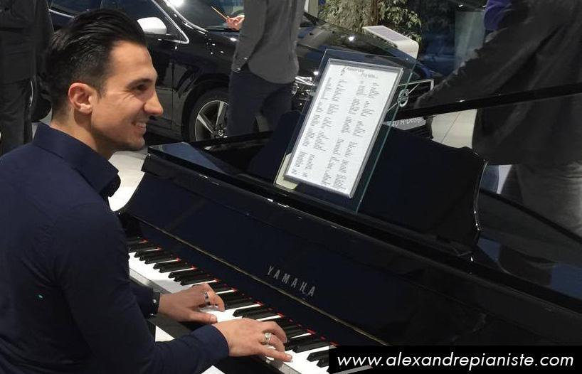 pianiste affaire diner