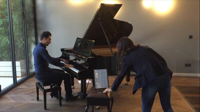 pianiste sur bruxelles