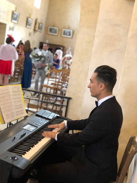 Pianiste cérémonie de mariage